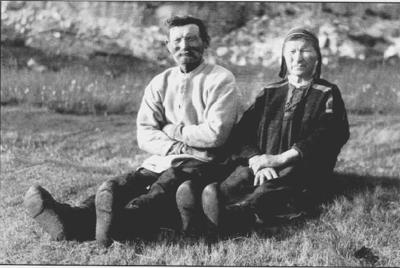 Mine oldeforeldre: Josef Fredrik Josefsen og Lydia Samuelsdatter